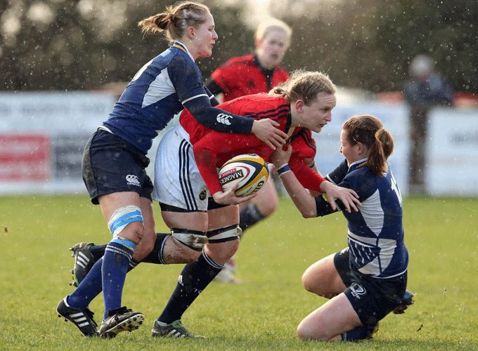 Laura Guest in provincial action for Munster