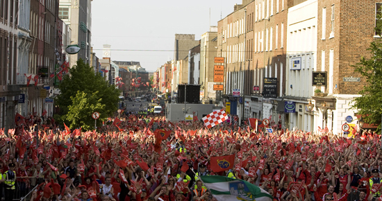 Limerick Turns Red For Munster