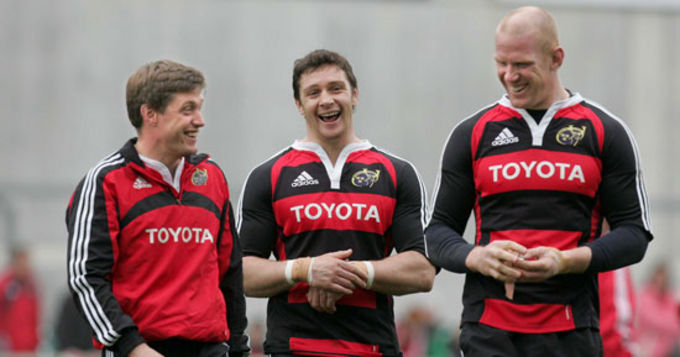 O'Gara Leads Munster