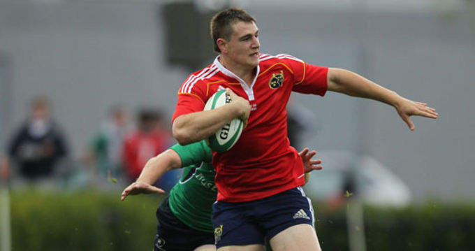Munster Sub-Academy player Lukas Kuntz joins forces with Young Munster RFC this season