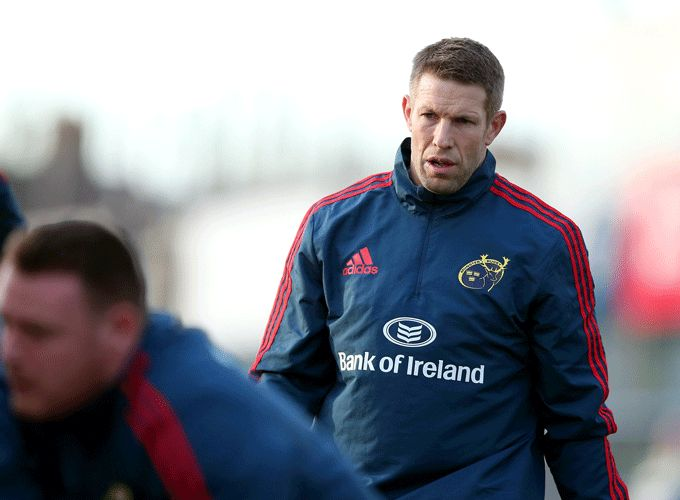 Munster 7s Head Coach - Colm McMahon.