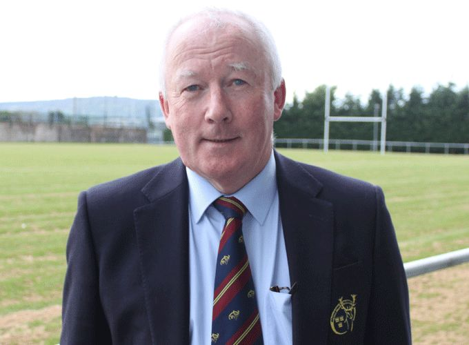 Mick Goggin, President of the Munster Branch 2014/15