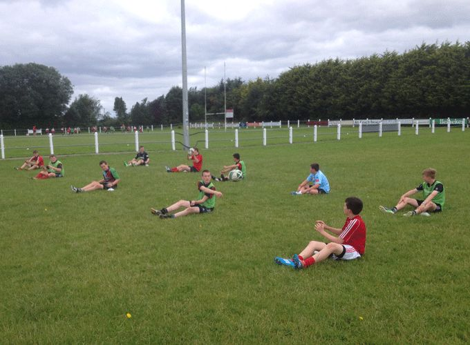 Action from the Munster Rugby Skills Camp at Midleton RFC