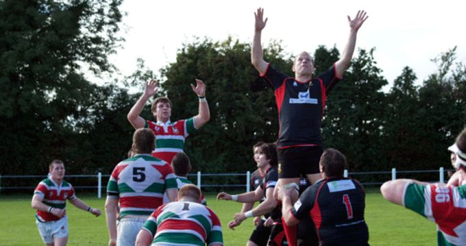 Midleton in Munster Senior Cup action against Sunday's Well