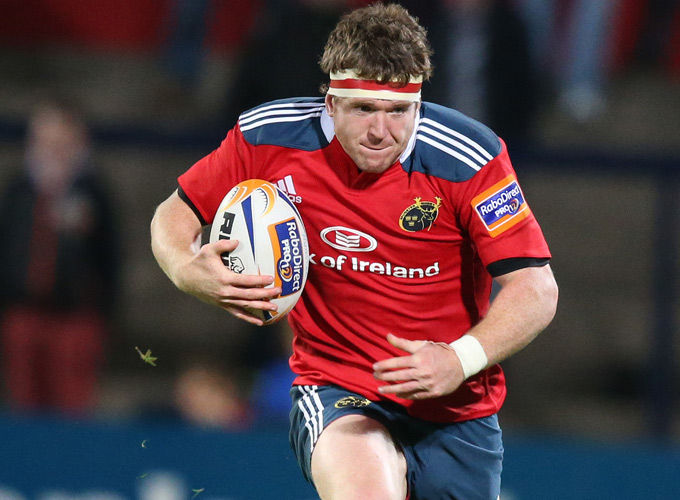 Munster hooker Mike Sherry