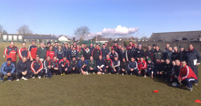 Coaches in Attendance at Mini & Foundation Level Coaching Course, CSN, Cork.