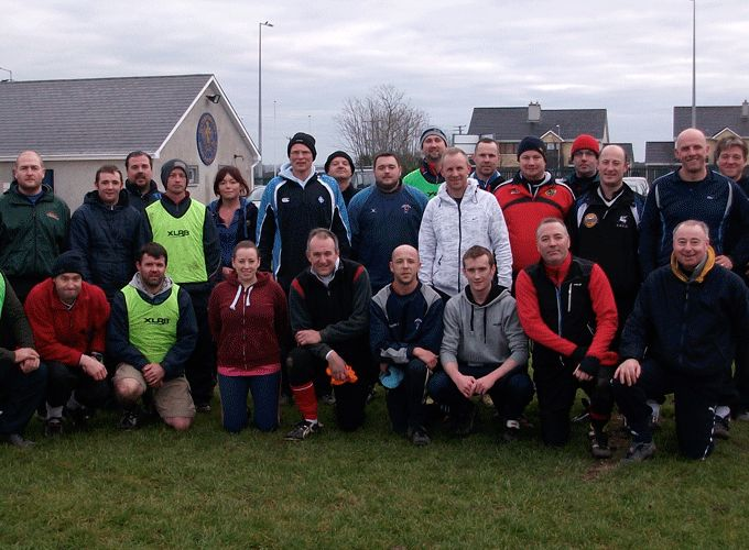 Coaches that attended the Mini Rugby Coaching Course at Waterford City RFC