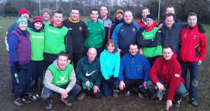 Particpants on the recent Mini Coaching Course in Waterpark