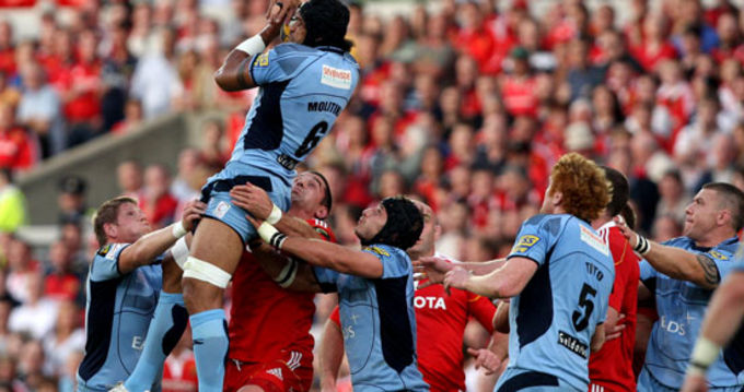 Munster and Cardiff in action in Thomond Park last season