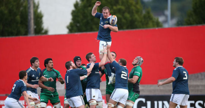 Munster A beat Connacht Eagles in their first Interprovincial game of the season