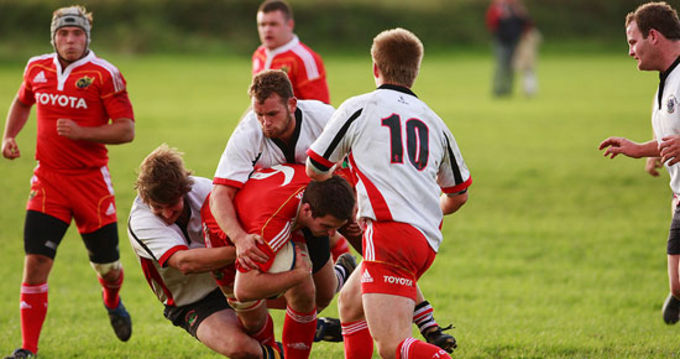 Munster Rugby Academy take on Kerry this week on Munster View