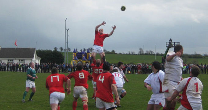 Action from Munster Juniors game against Ulster Juniors