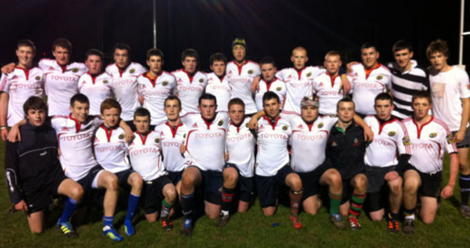 Combined South/West Munster U17 side