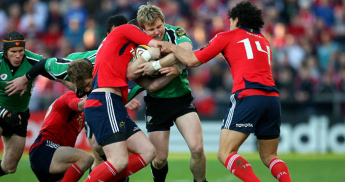 In Pics: Munster v Connacht
