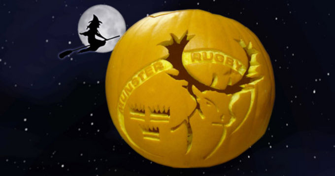 Thanks to Bill Howell, from Sutton Coldfield, Birmingham for the Munster carved pumpkin!