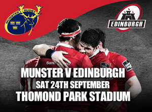 Tickets Available For Edinburgh In Thomond