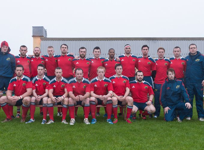 The Munster Juniors who defeated Ulster in Youghal RFC