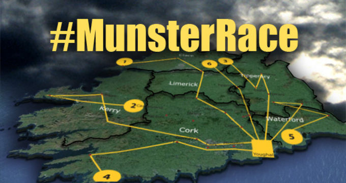 The Amazing Munster Race - Look out for the squad as they make their around the province