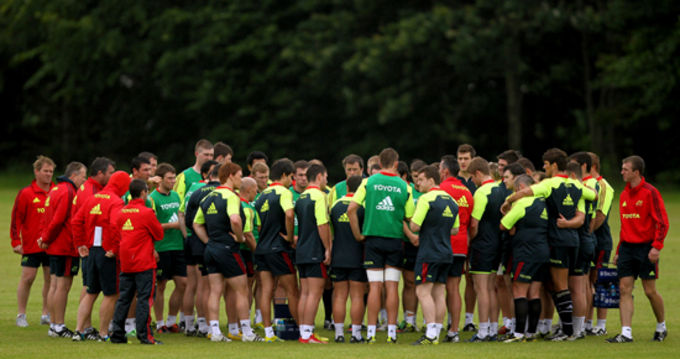 Rob Penney's Munster set for first home game