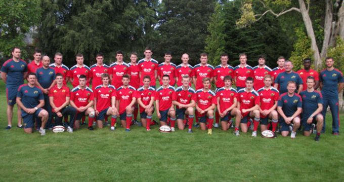 Munster U19 Squad and Team Management look to end series on a high