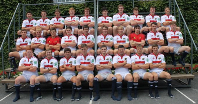 The Munster U20s squad