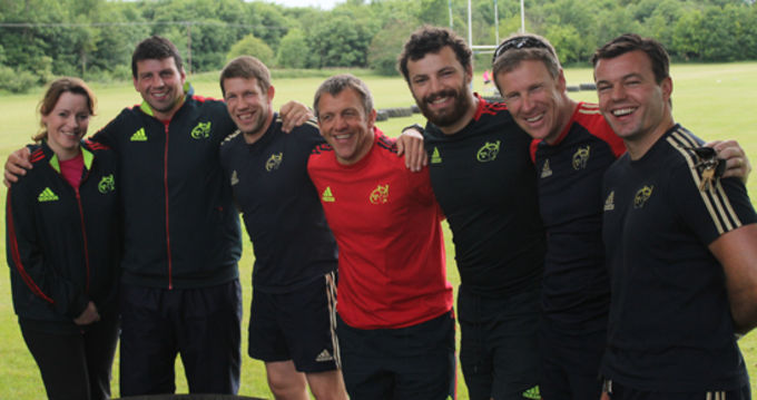 The Munster U20s Management Team