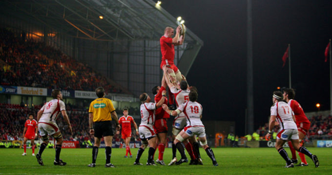 Munster v Ulster in Thomond Park on Saturday October 31st