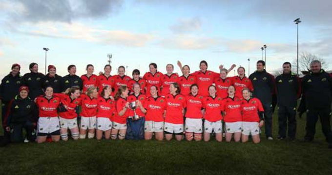 The 2012/13 Winning Munster Women's Intepro Squad