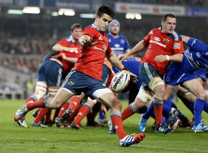 Munster Rugby's Player of the Year Conor Murray in action against Leinster in this season's RaboDirect PRO12