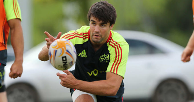 Conor Murray currently in the middle of pre-season with his international colleagues