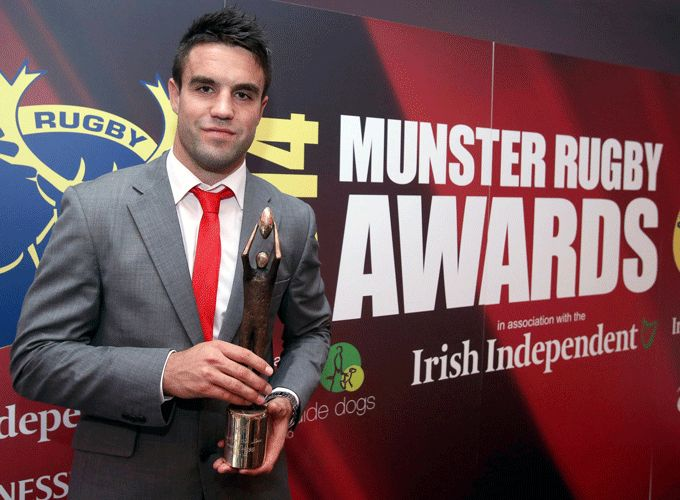 Munster Rugby's Player of the Year Conor Murray