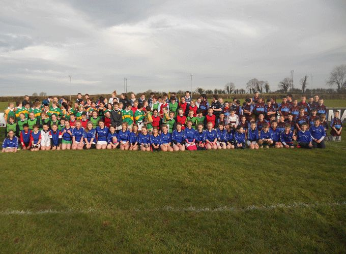 Participants at the Nenagh School Blitz