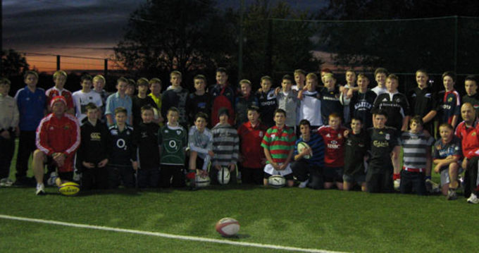 Newport RFC U14 and U15 squads