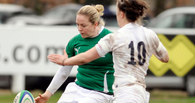 Munster and Ireland full back Niamh Briggs