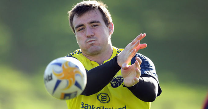 Niall Scannell At Munster Training