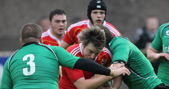 Munster's Niall Scannell in action