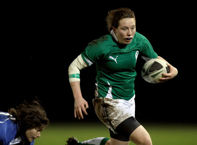 Niamh Kavanagh in action for Ireland in the 6 Nations.