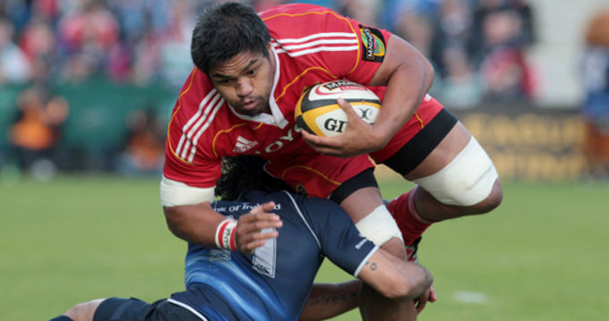 Nick Williams in action against Leinster