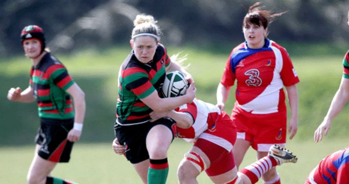 Highfield's Nicola Scully in AIL action
