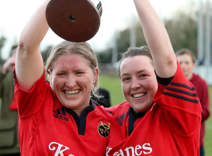 Munster Captain Heather O'Brien joins hooker Gillian Bourke on the Ireland Women's Rugby World Cup squad.