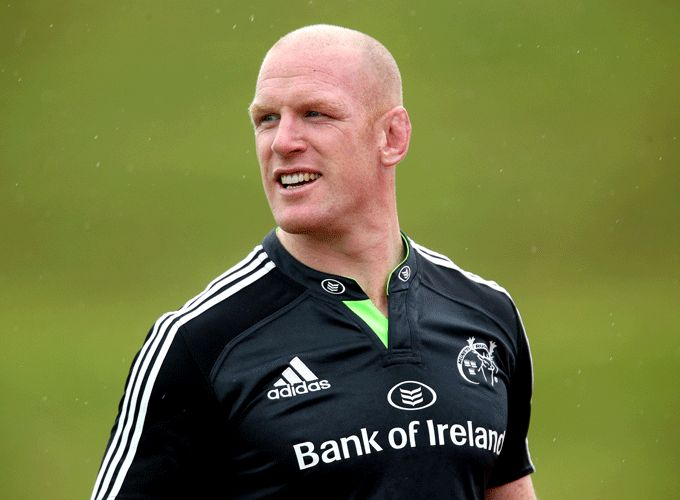 Munster and Ireland second-row Paul O'Connell