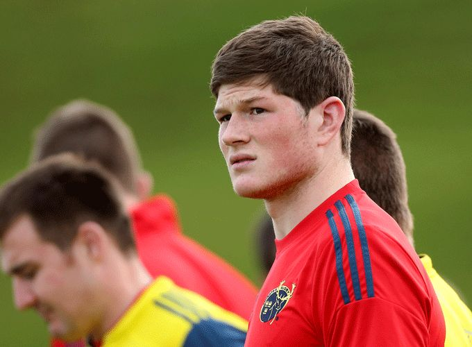 Jack O'Donoghue will captain Ireland U20s for the first time on Monday