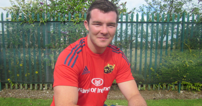 Peter O'Mahony named Munster Captain for season 2013/14