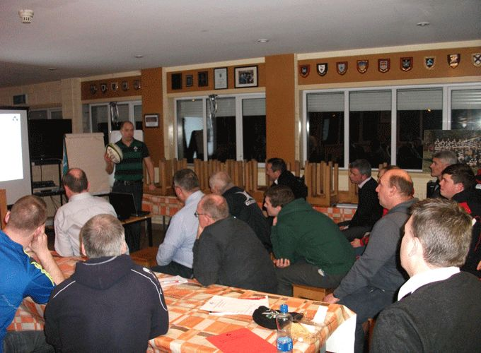 Ireland international referee Peter Fitzgibbon hosts affiliated referee course at PBC