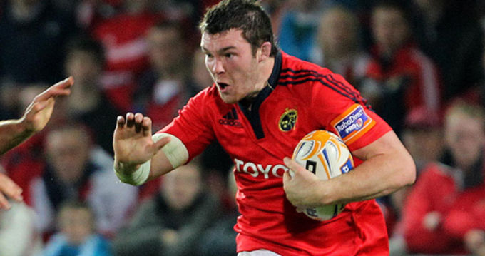 Peter O'Mahony named on the replacements