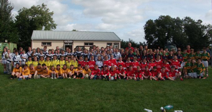 Play Rugby participants pictured at Charleville RFC