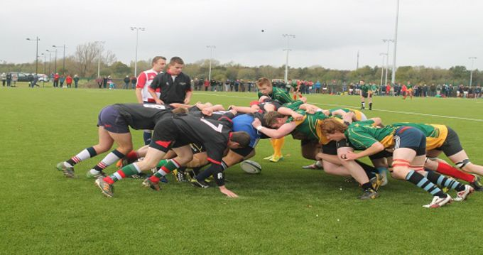 South Munster and West Munster RDS squads in action