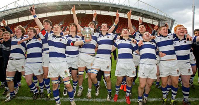 Rockwell College, Munster Schools Senior Cup Winners 2011/12