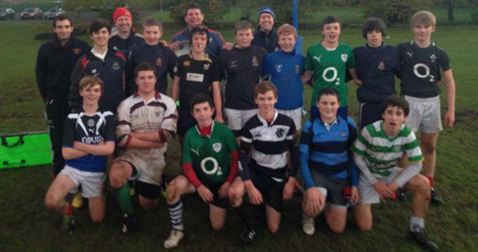 Rockwell College McCarthy Cup squad