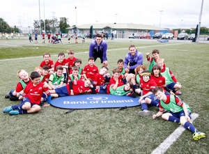 Munster Players Visit Summer Camps Week 1